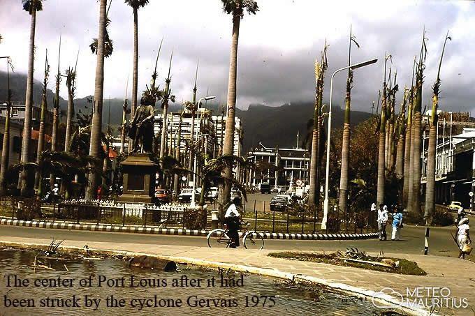 Port Louis après GERVAISE (MeteoMauritius)