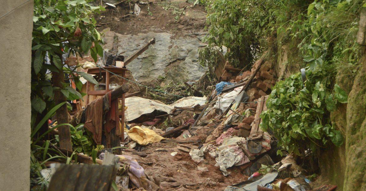 glissement de terrain tananarive