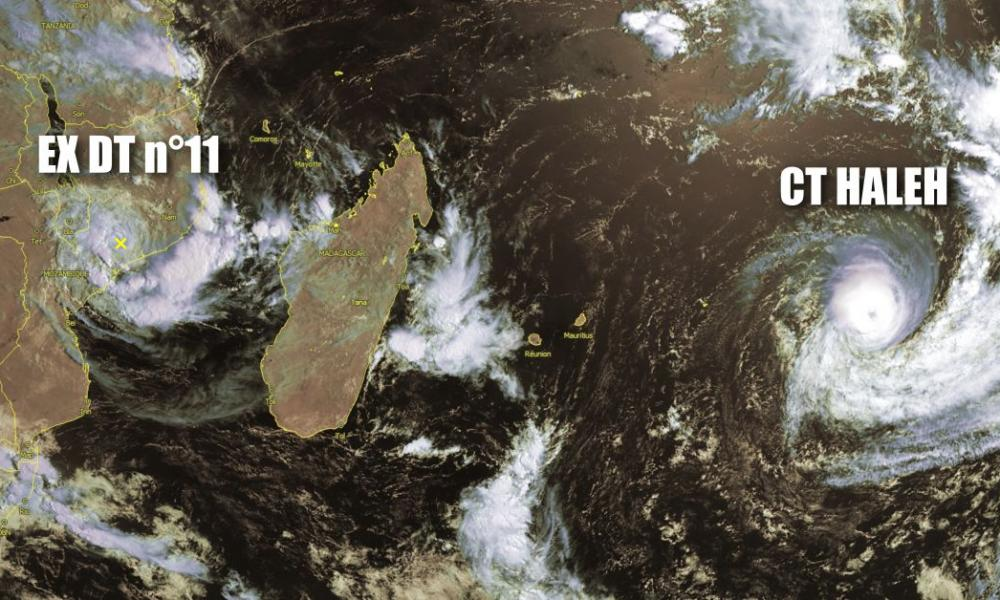 cyclone tropical Haleh
