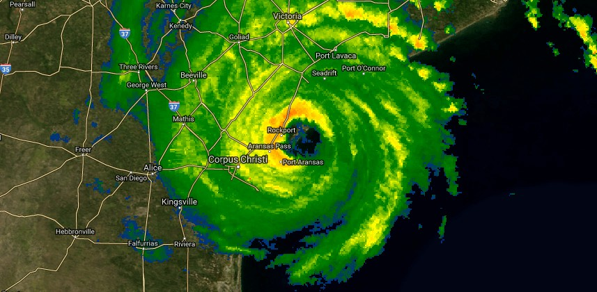 Harvey radar