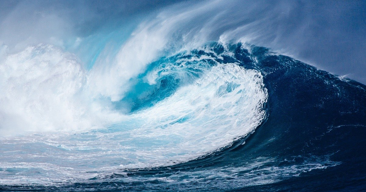 Houle australe ocean indien