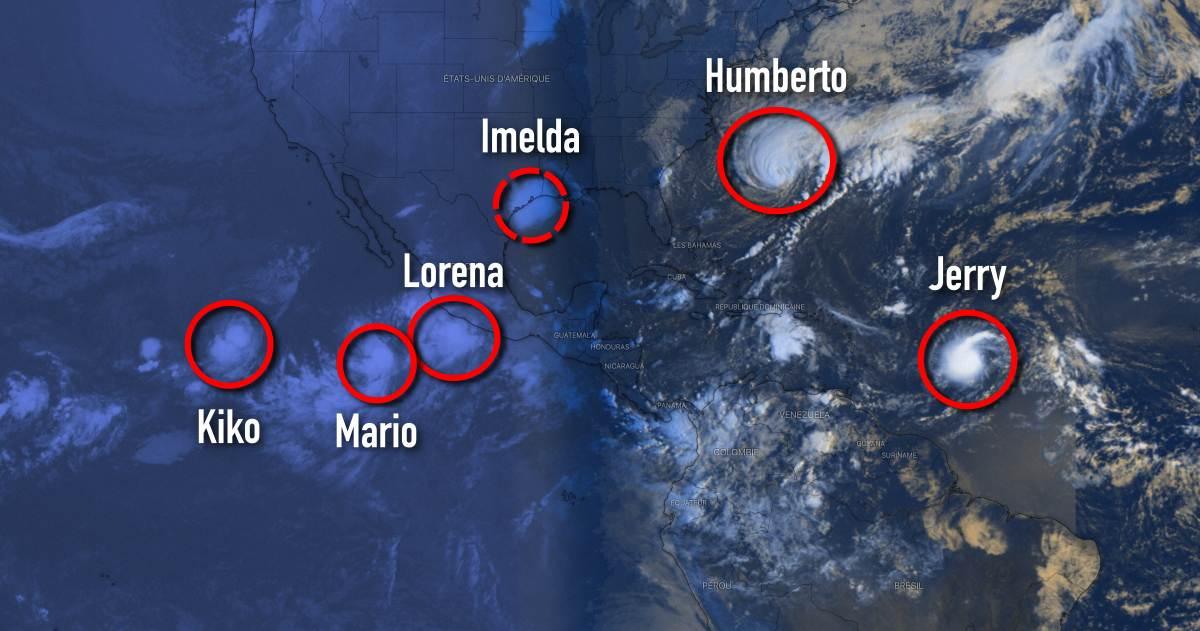 Hyper activite ouragan