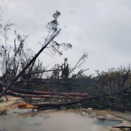 Beira après le cyclone IDAI