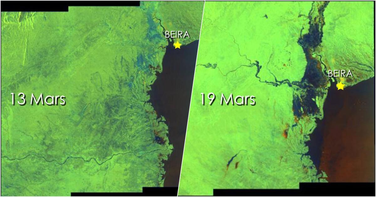 Idai inondation mozambique