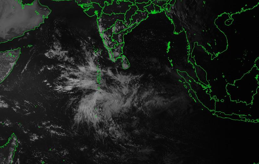 Image satellite ocean indien ©IMD