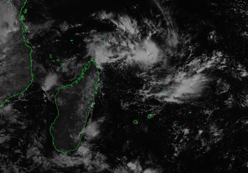 Image satellite du bassin le 01/03/2018 à 06z ©IMD