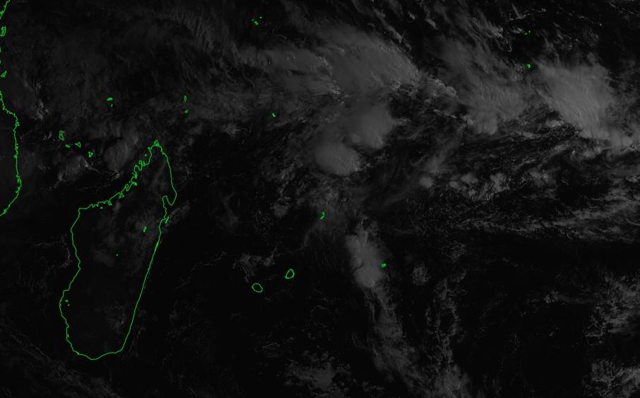 Zone sud-ouest océan indien le 10/03/2018 à 04z ©IMD