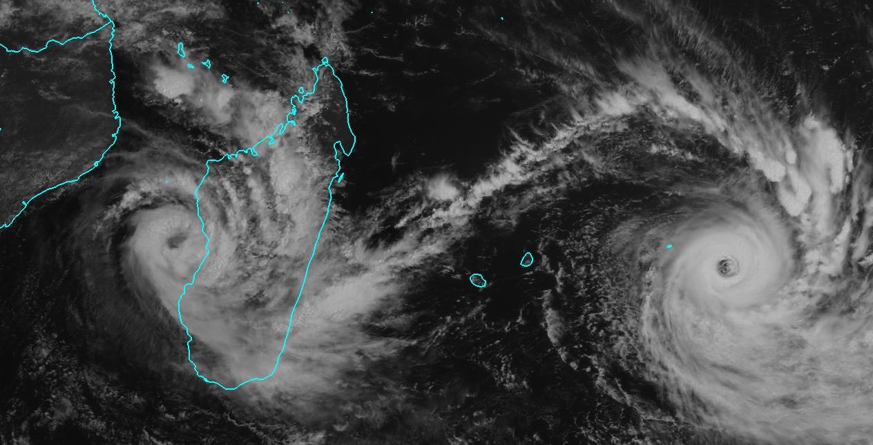 La tempête CHEDZA et le cyclone BANSI