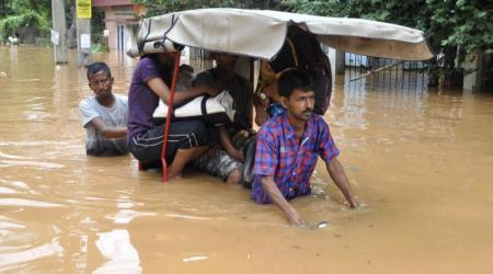 Inondation assam archive