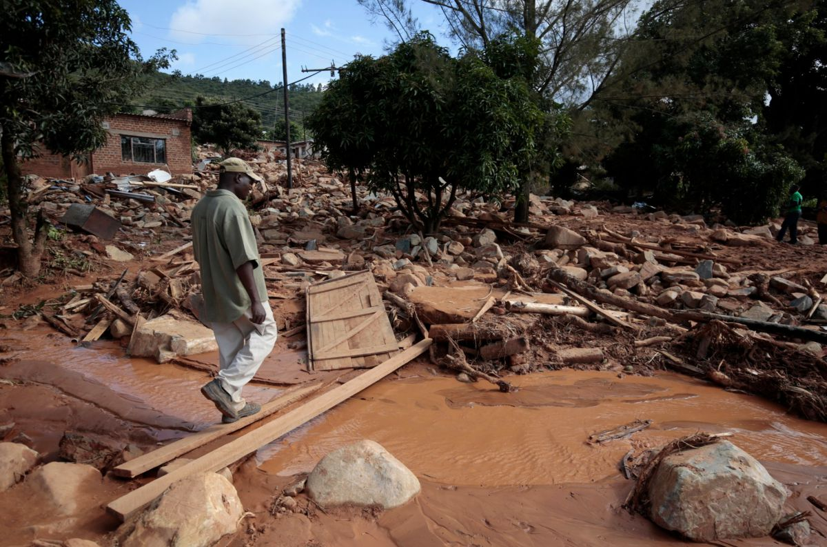 Inondation cyclone idai