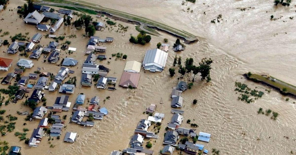 Inondation japon hagibis