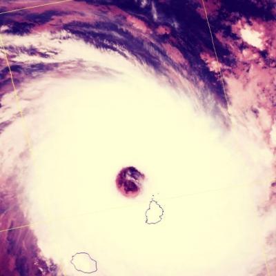 Jai vecu le cyclone dina
