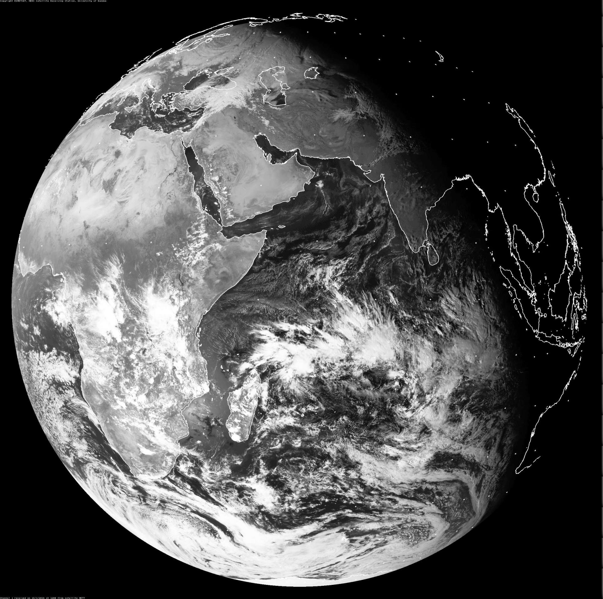 14 Janvier 2016 à 12 UTC (DUNDEE SAT)