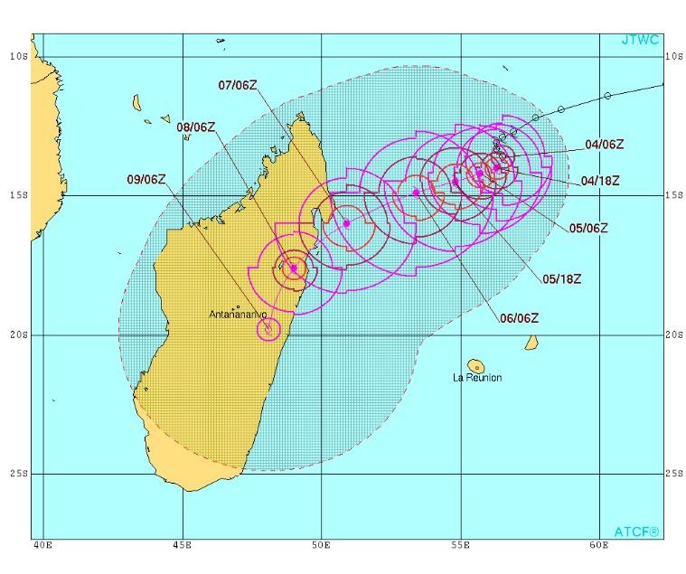 bulletin n°3 du JTWC du 04/03/2017