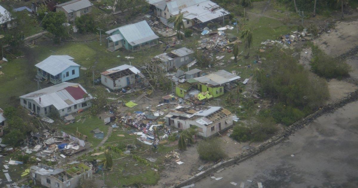 Le cycloneHarold est un nouvel avertissement avec frais