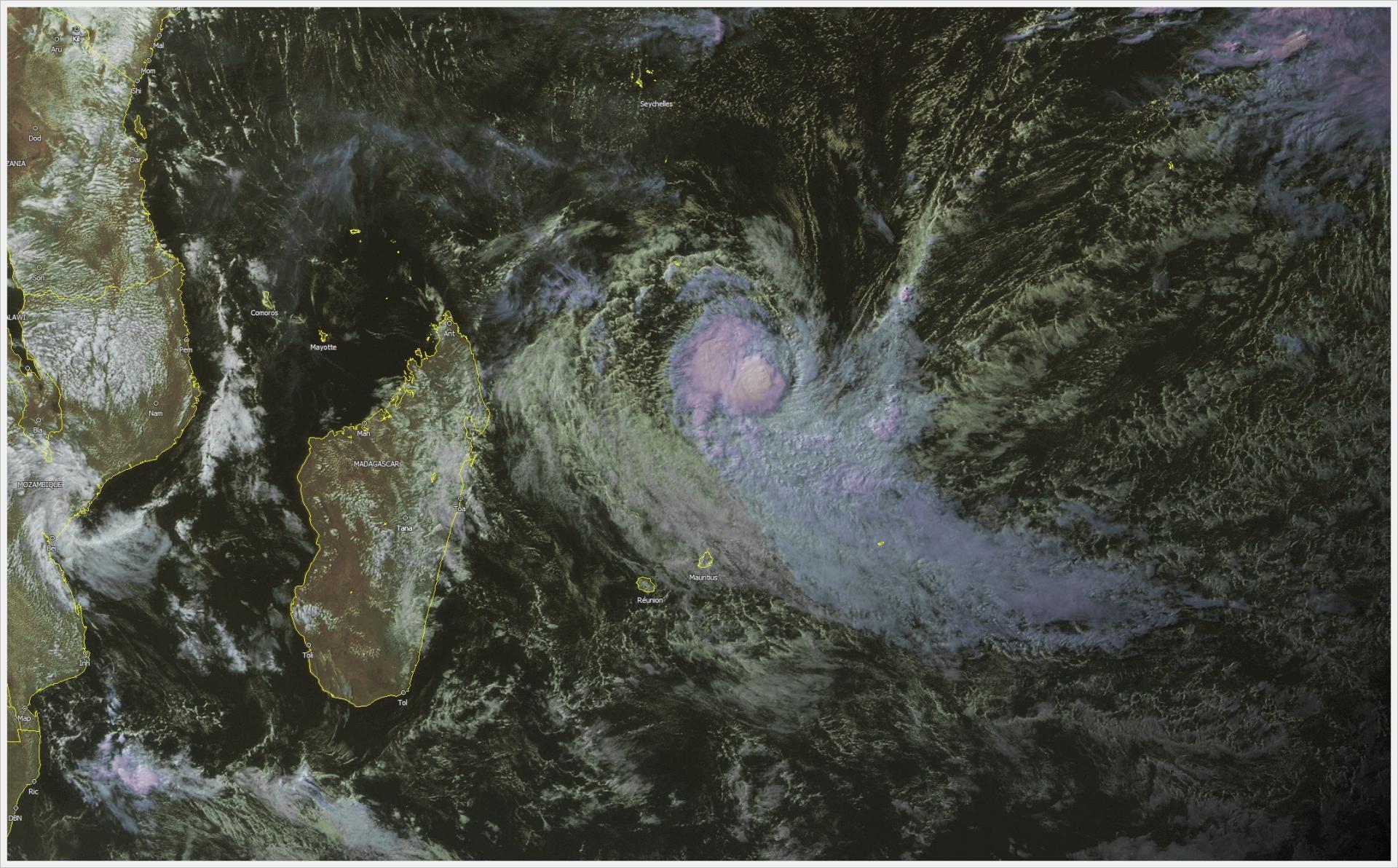 Tempête Tropicale ABELA