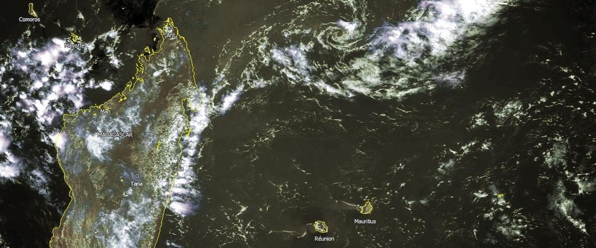 Mois de novembre et décembre vierge d'activité cyclonique