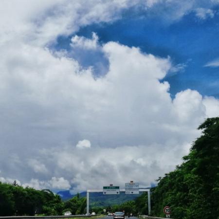 Fortes pluies dans les hauts de la Réunion