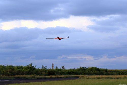 Le drone en vol