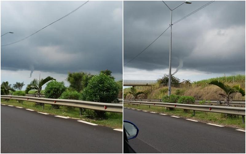 Tuba nuageux photographié à l'île Maurice le 01/08/2018 ©Jess Vls