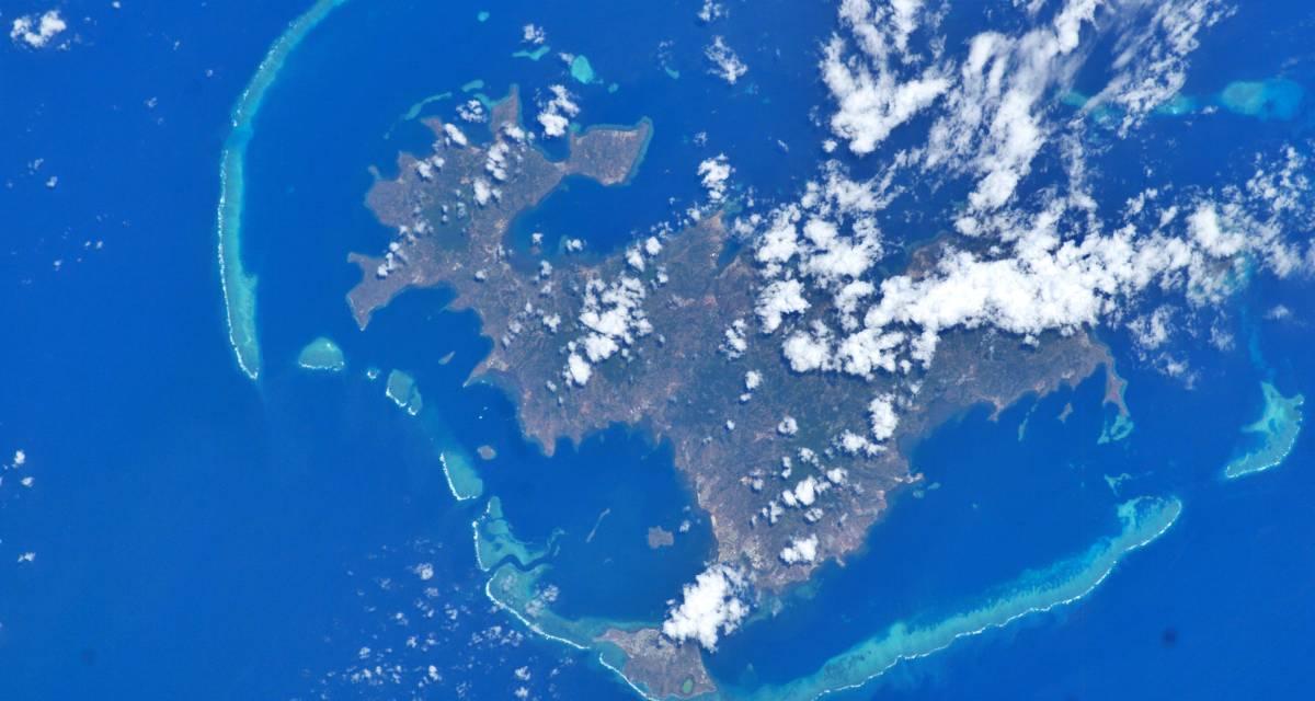 Mayotte grande maree