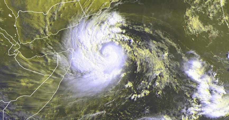 Image satellite MEKUNU du 23/05/2018 à 0330z ©EUMETSAT