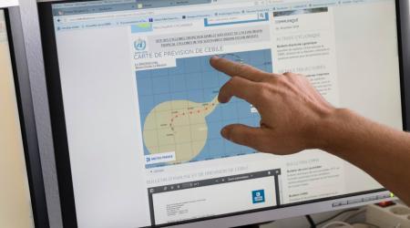 Page facebook météo france ocean indien