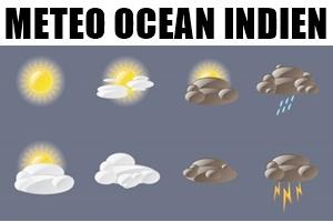 Météo océan indien