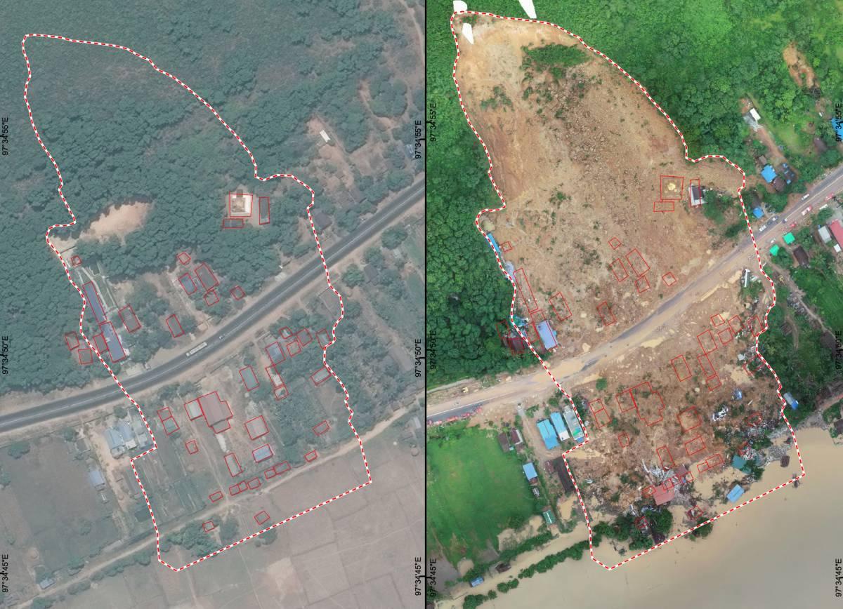 Glissement de terrain Myanmar