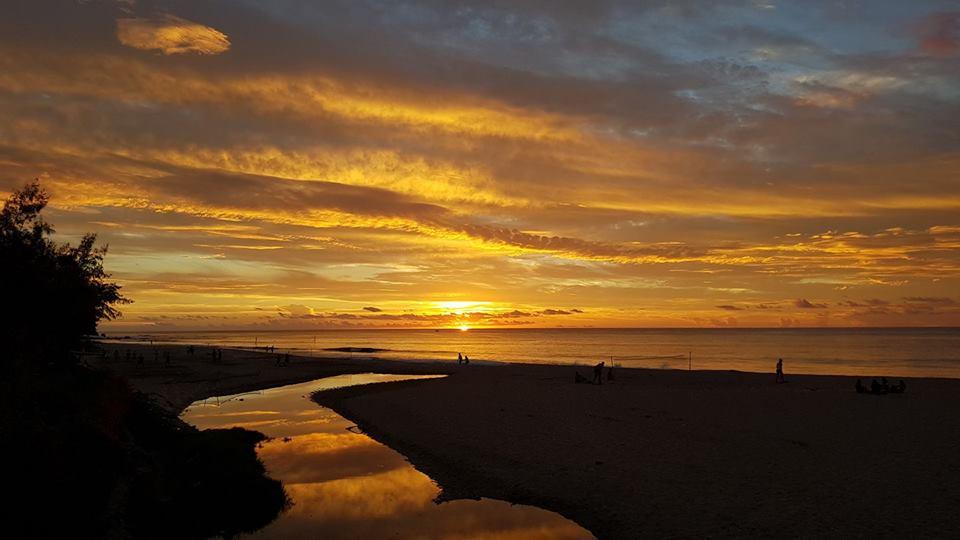 Coucher de soleil à la Réunion ©Nicolas Turner