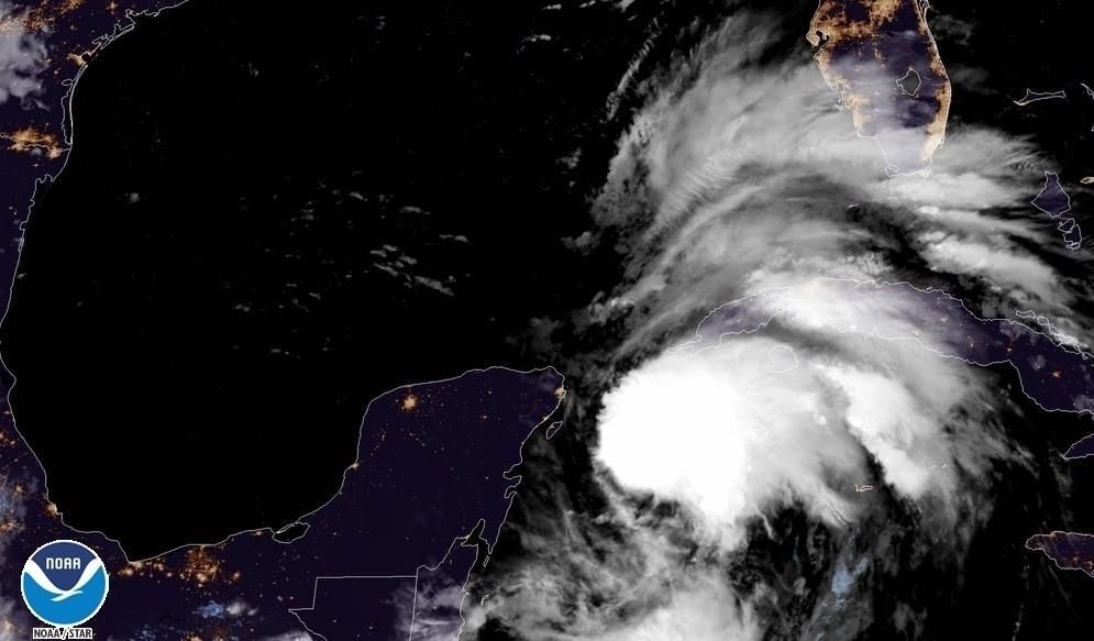 Tempête tropicale MICHAEL ©NOAA