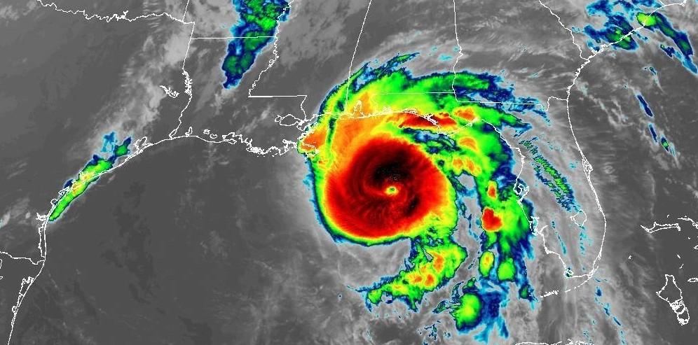 ouragan Michael dans le golfe du Mexique