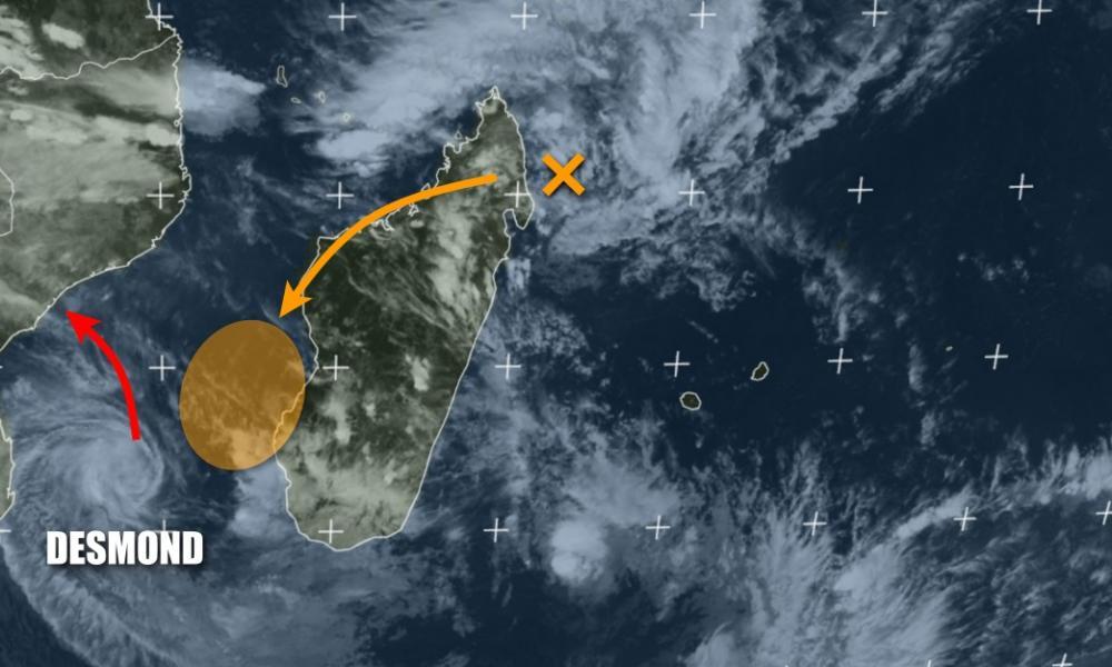 Tempête tropicale DESMOND