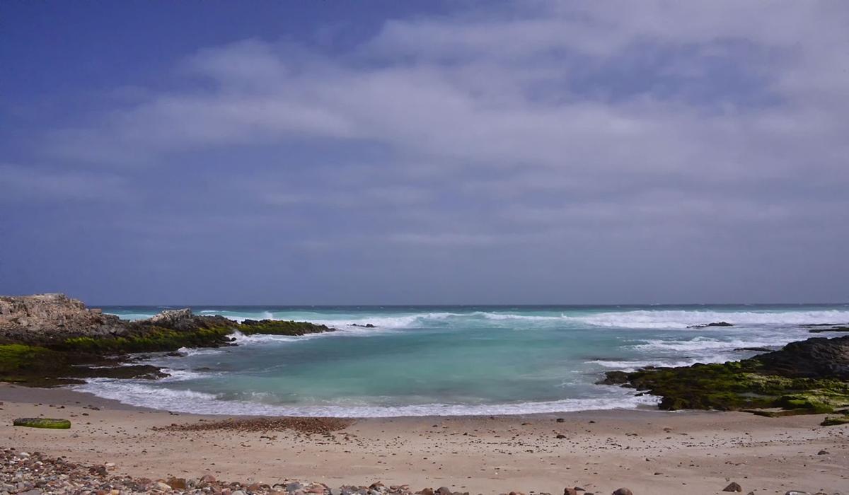 Plage au nord de Socotra