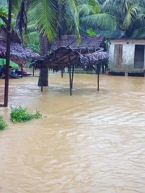 Inondation à Nosy Be ©CUNB