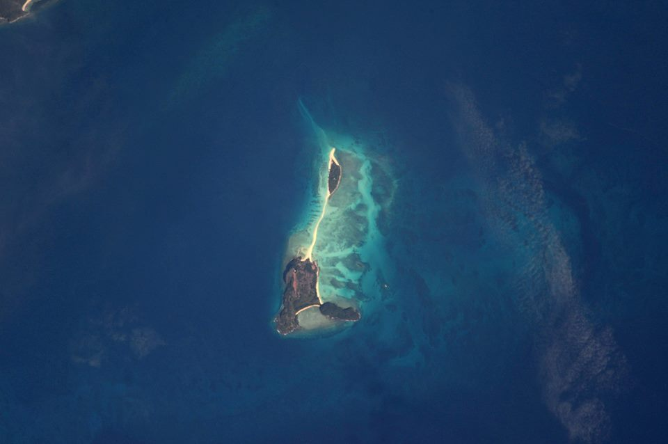 Nosy Iranja (NASA)