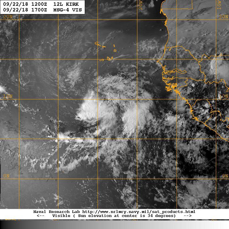 Tempête tropicale KIRK ©NRL