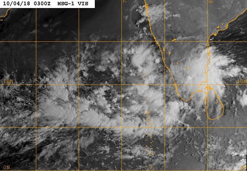 Image satellite mer d'arabie et zone suspecte 99A ©NRL