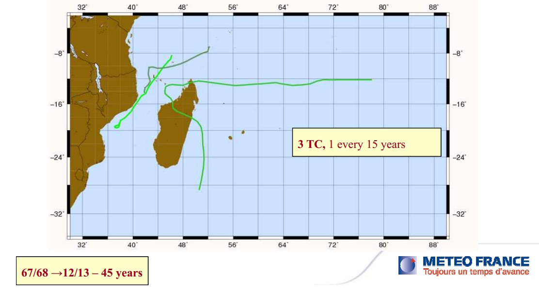 3 cyclones en 45 ans sur l'archipel des Comores