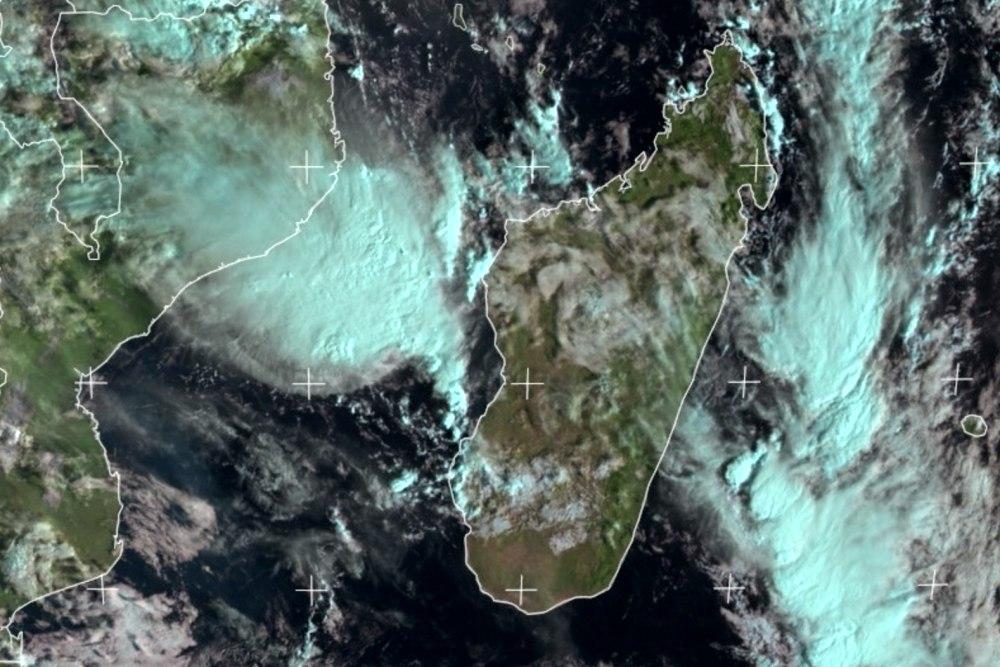 Madagascar encerclé par les orages