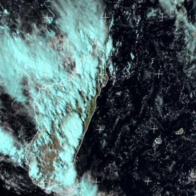 Impressionnants orages sur Madagascar