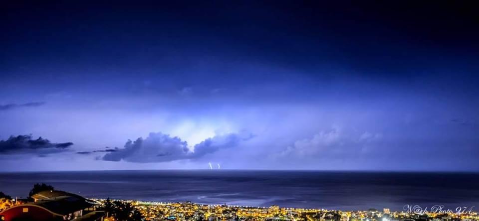 Orage sur Saint-Denis par Nach Photo 974