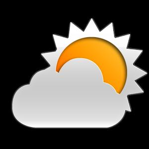 Orange meteo icone