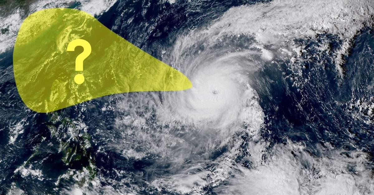 Ou va aller le super typhon yutu
