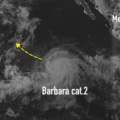 Ouragan barbara