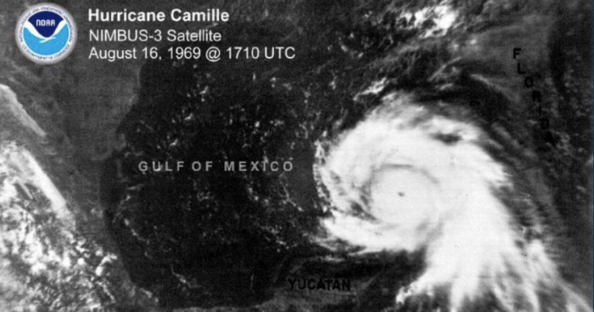 Ouragan camille golfe mexique