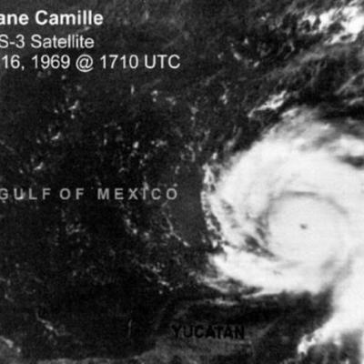 Ouragan camille golfe mexique