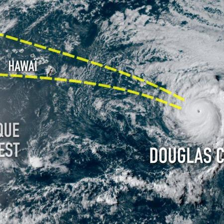 Ouragan douglas hawai