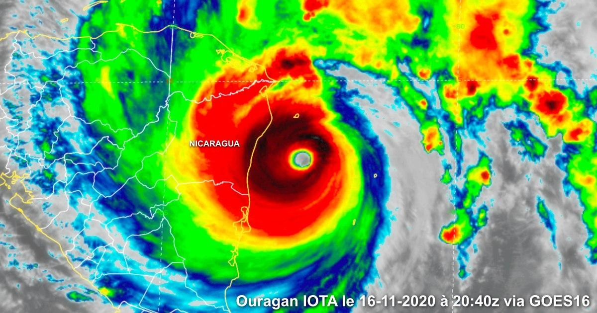 Ouragan majeur iota le 16112020