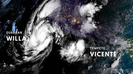 Ouragan willa tempete vicente